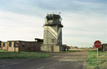 Photo the control tower RAF Alconbury